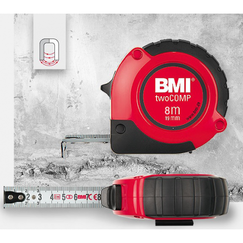 Рулетка BMI two COMP 8 M